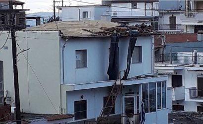 Χαλκιδική:Ο ανεμοστρόβιλος προκάλεσε καταστροφές στον Νέο Μαρμαρά (ΦΩΤΟ)