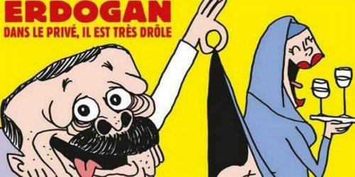 Charlie Hebdo Ερντογάν