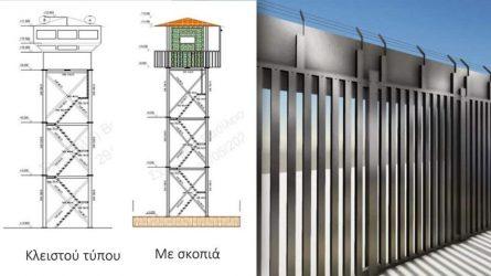 """Υπουργείο Προστασίας του Πολίτη: """"Ο φράκτης στον Εβρο δεν είναι σύνορο, είναι εμπόδιο σε εισβολή"""""""