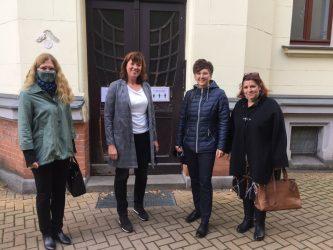 """Επίσκεψη της ΚΕΔΗΘ στη Λειψία – Ιω. Κοσμοπούλου: «Μπορούμε να κάνουμε τα """"ανέφικτα"""" εφικτά»"""