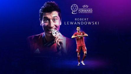 UEFA: Κορυφαίος παίκτης της σεζόν ο Λεβαντόφσκι