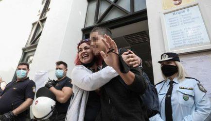 Αφέθηκαν ελεύθεροι οι μαθητές που συνελήφθησαν στο εκπαιδευτικό συλλαλητήριο