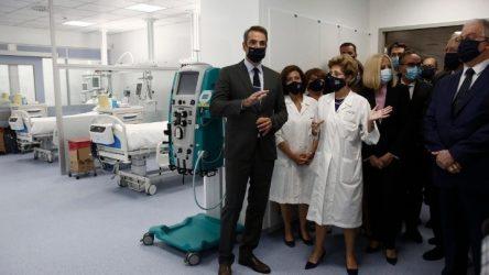 Νοσοκομείο Σωτηρία: Στα εγκαίνια των 50 ΜΕΘ ο πρωθυπουργός
