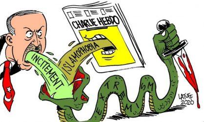 Γνωστός σκιτσογράφος βάζει στη… θέση τους Ερντογάν και Charlie Hebdo
