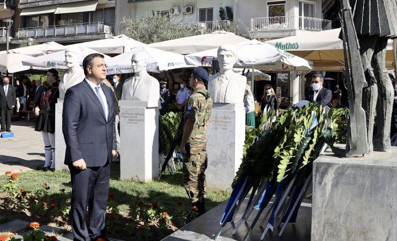 Η Περιφέρεια τίμησε την Ημέρα Μνήμης του Μακεδονικού Αγώνα (ΦΩΤΟ)