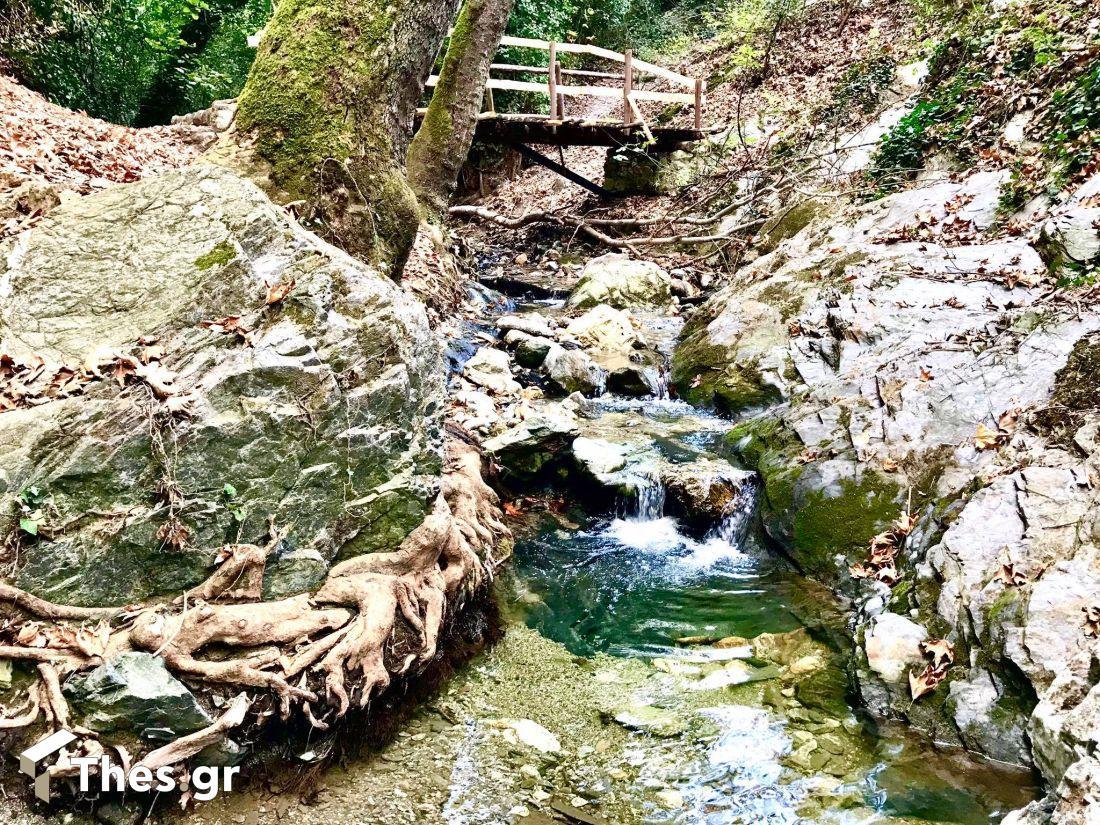 ποταμός κοιλάδα αηδονιών ποταμός της Θεσσαλονίκη Ξηροπόταμος