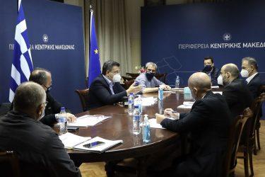 Συνάντηση Τζιτζικώστα με Μπίνη – Στο επίκεντρο τα μέτρα για την πανδημία