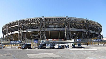 Το όνομα του Ντιέγκο Μαραντόνα στο γήπεδο της Νάπολι
