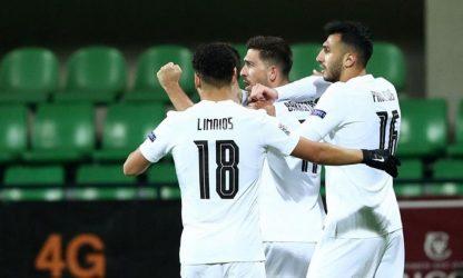 Νικηφόρο πέρασμα για την Εθνική ομάδα από τη Μολδαβία (2-0)