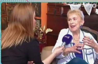 Σάσα Μανέττα παρουσιάστρια