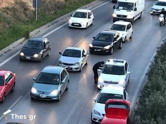 Θεσσαλονίκη: Σύγκρουση οχημάτων στον Περιφερειακό – Ουρά τα αυτοκίνητα