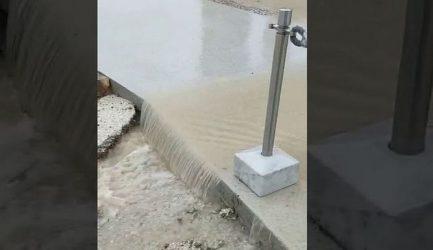 Πλημμύρισε η Ακρόπολη – Οι αντιδράσεις και η απάντηση του υπουργείου (ΒΙΝΤΕΟ)