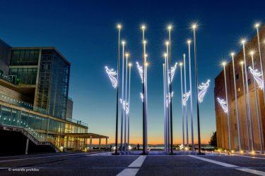 Φως Χριστουγέννων στο Μέγαρο Μουσικής Θεσσαλονίκης