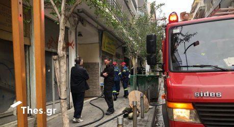 Φωτιά σε διαμέρισμα στην Καλαμαριά