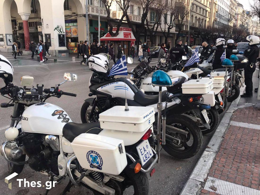 Θεσσαλονίκη αστυνομία μετακινήσεις Πρωτοχρονιά