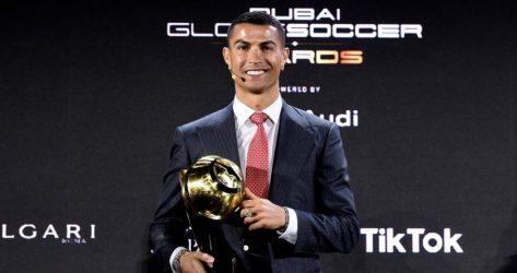 Globe Soccer Awards: Ο Κριστιάνο Ρονάλντο παίκτης του αιώνα