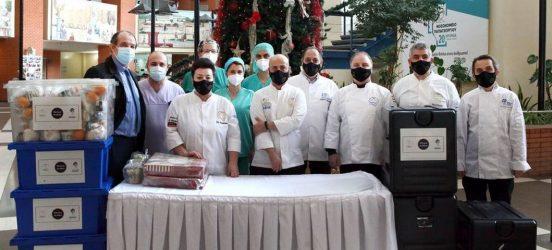Θεσσαλονίκη: 300 γεύματα από τη Λέσχη Αρχιμαγείρων στους μαχητές των ΜΕΘ των νοσοκομείων