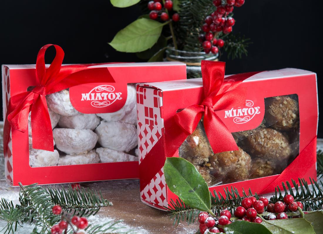 χριστουγεννιάτικα γλυκά θεσσαλονίκη ζαχαροπλαστεία μίλτος