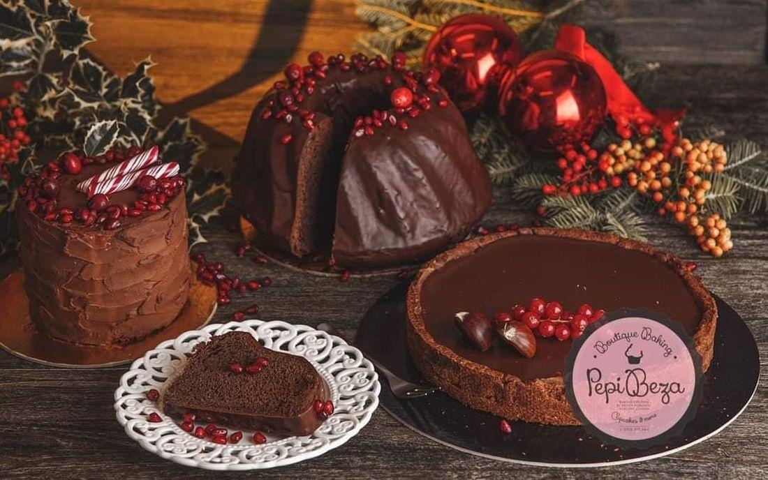 Peppi Beza ζαχαροπλαστείο Θεσσαλονίκη χριστουγεννιάτικα γλυκα