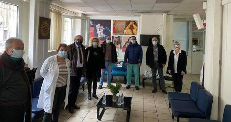 Θεσσαλονίκη: Το Θεαγένειο επισκέφτηκε αντιπροσωπεία του ΣΥΡΙΖΑ