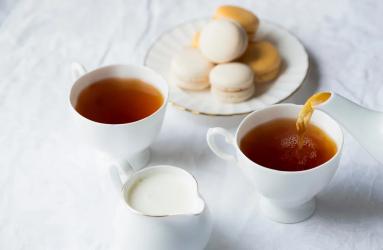 τσάι με γάλα