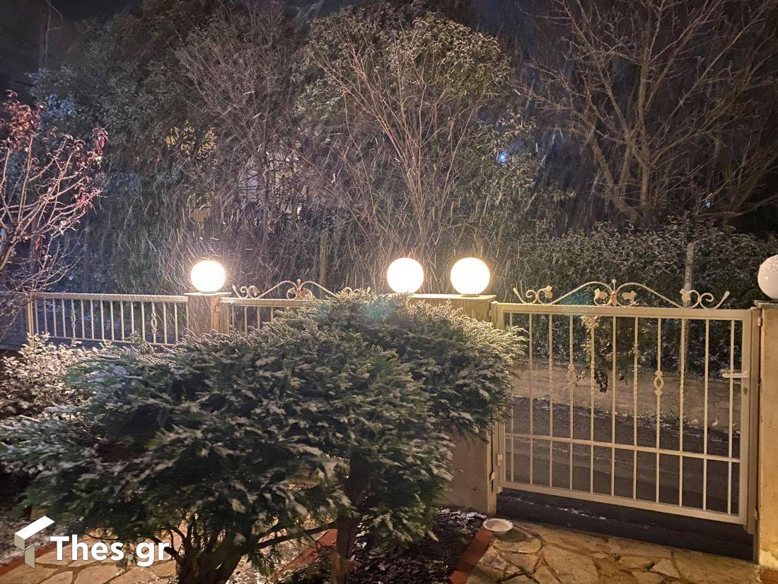 Θεσσαλονίκη Φίλυρο χιόνια χιόνι