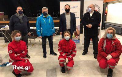 """Στην Καλαμαριά δωρεάν rapid test από το ΕΕΘ στο πλαίσιο του """"Επιχειρώ με Ασφάλεια"""" (ΦΩΤΟ)"""