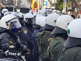 Θεσσαλονίκη επεισόδια πορεία φοιτητές