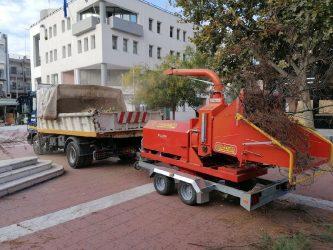 Δήμος Κορδελιού – Ευόσμου: Σε εξέλιξη οι εργασίες κλάδευσης δέντρων