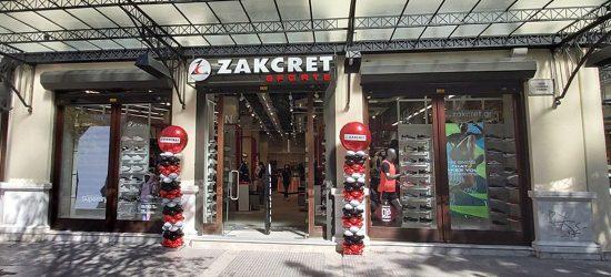 Στην Θεσσαλονίκη το 20ο ΚΑΤΑΣΤΗΜΑ ZAKCRET SPORTS είναι μια εμπειρία!