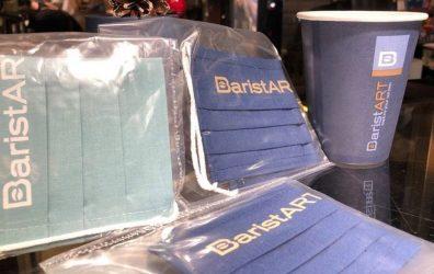 baristART καφέ Θεσσαλονίκη μάσκα προσφορά