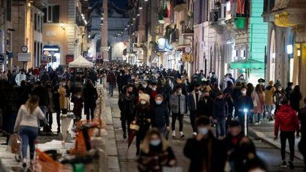 Ιταλία: Ανησυχία για την κοσμοσυρροή σε μεγάλες πόλεις