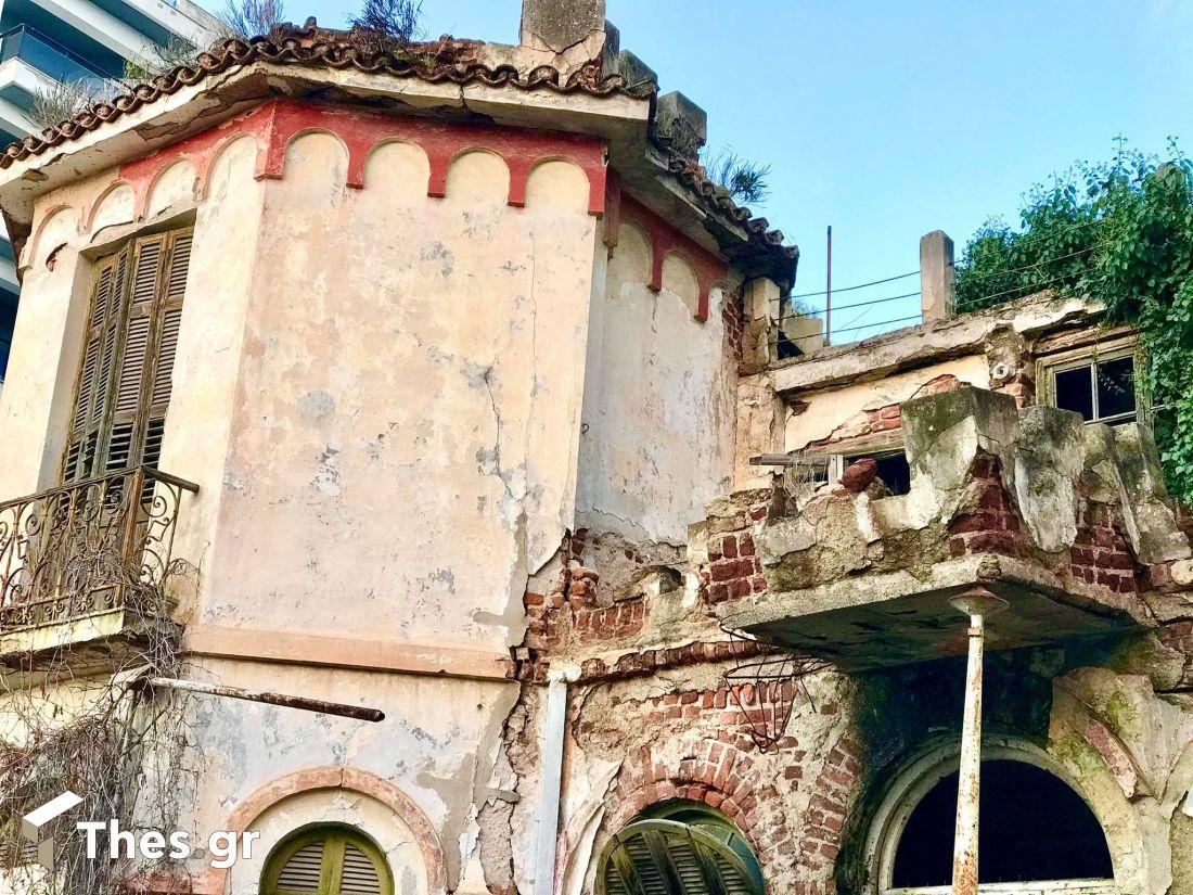 Η οικία Χατζηγώγου στην Αρετσού Καλαμαριά Θεσσαλονίκη