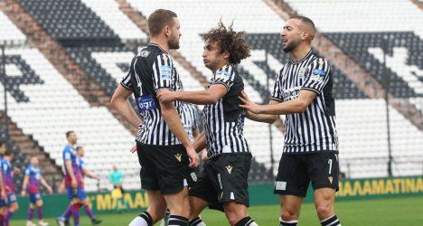 Super League: Επέστρεψε στις νίκες ο ΠΑΟΚ – Κέρδισε με 3-1 τον Βόλο