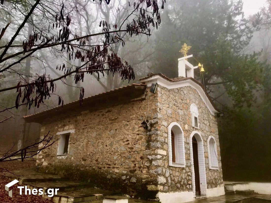 Παρεκκλήσι Αγία Παρασκευή Χορτιάτης ορεινή απόδραση Θεσσαλονίκη