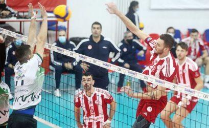 Volley League: Δεν άντεξε στο ντέρμπι με τον Ολυμπιακό ο ΠΑΟΚ