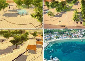 Χαλκιδική: Αλλάζει όψη η πλατεία της Ολυμπιάδας