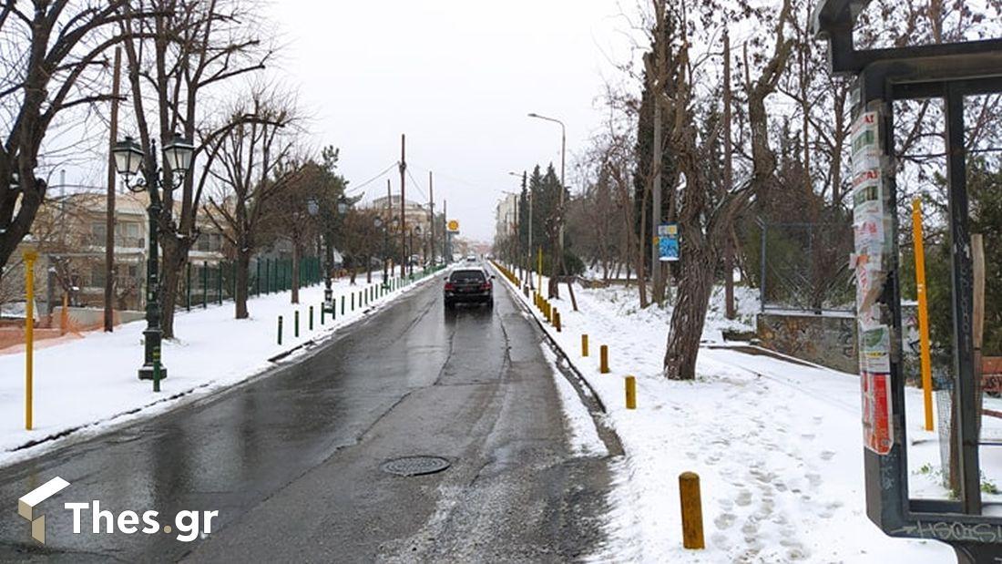 Θεσσαλονίκη χιόνια εικόνες