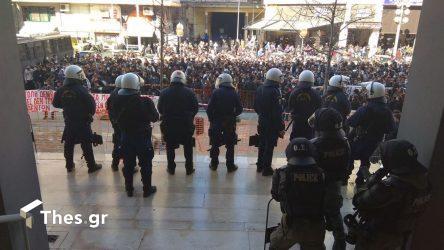 αστυνομία Θεσσαλονίκη δικαστήρια