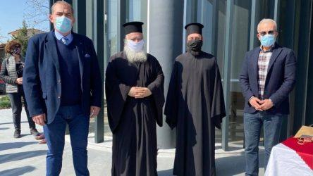 Χαλάστρα: Αγιασμός στο νέο κτίριο της ΔΕΥΑΔΔ (ΦΩΤΟ)