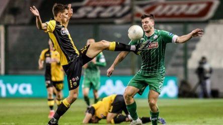 Super League: Ισόπαλοι ΠΑΟ και ΑΕΚ στο ντέρμπι της Λεωφόρου