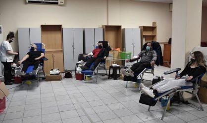 Σημαντική η παρουσία πολιτών στην αιμοδοσία του δήμου Νεάπολης – Συκεών