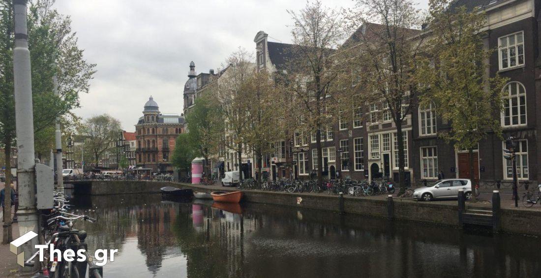 Ολλανδία Αμστερνταμ κορονοϊός