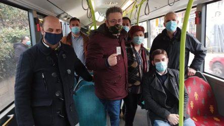 Ξεκίνησε η απευθείας λεωφορειακή σύνδεση της Μυγδονίας με το κέντρο της Θεσσαλονίκης