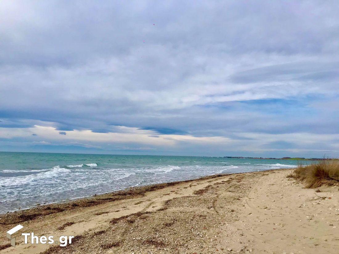 Η παραλία Τούμπα στην Επανομή