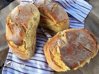 ψωμί στη γάστρα συνταγή
