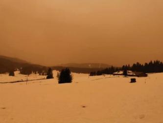 Το σύννεφο σκόνης της Σαχάρας μείωσε την ποιότητα του αέρα στην Ευρώπη