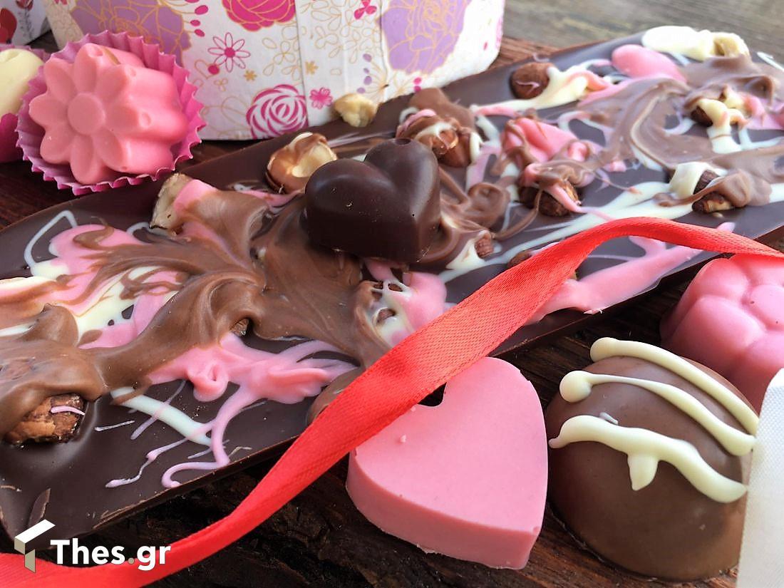 σοκολατάκια αγάπης για τον Αγιο Βαλεντίνο