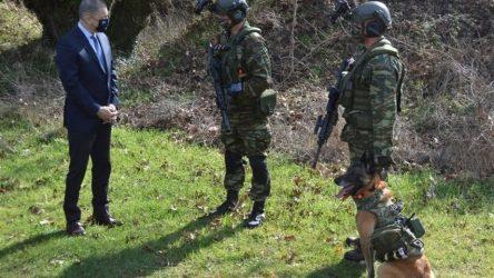 Περιοδεία Στεφανή σε σχηματισμούς των Ενόπλων Δυνάμεων σε Θεσσαλονίκη, Δράμα και Φλώρινα