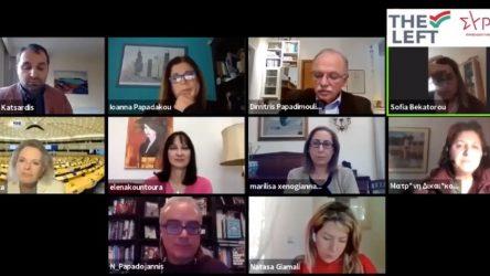 ΣΥΡΙΖΑ: Ομιλήτρια η Μπεκατώρου στη διαδικτυακή εκδήλωση της Ευρωομάδας